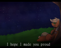 .:I hope I made you proud:. by NinjaHermit