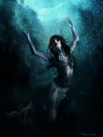 ABYSS Mermaid by PM-ForeverArts