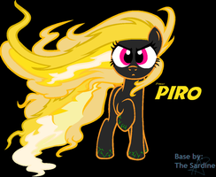 ~PIRO~(Poster looking verson) by FrankinPoodle