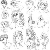 Trylle Sketches by angel-gidget