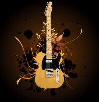 Guitar Logo by BeniBoyHUN