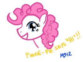 Pinkie-Pie Penned! by meganschmidt
