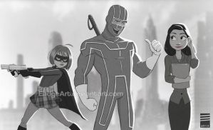 Paper KICK-ASS by EadgeArt