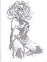 Ms. Marvel Pinup by raccoon-eyes