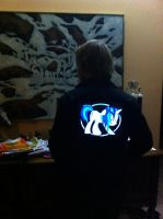 Vinyl Scratch Attack - Jacket by SDC2012