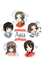 Asia by rinweb