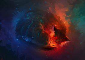 Sleeping Cat Nebula by RHADS