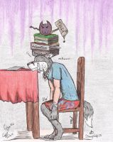 Tareas... by StrongWolf25