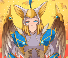 Skywrath mage by keterok