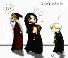 Snape needs love by Gone-Batty
