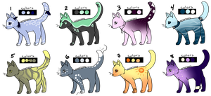 Cat Designs for Sale by myheartyoung