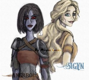 Loki's Wives: Angrboda and Sigyn