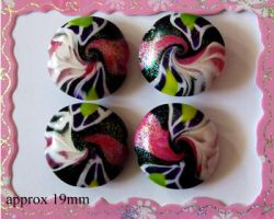 Polymer Clay Beads 63 by snowskin