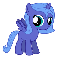 Filly Luna by Serenawyr