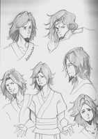 LOK - Wan sketches by borearisu