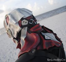 Colossal Titan Leather Mask: Neck Attack by Epic-Leather