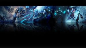 League of legends Wallpaper - Ice (black) by Desorienter