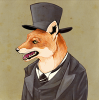 Dapper-Fox by Kalegiro