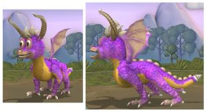 Spore : Spyro The Dragon by Sontine