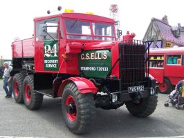 old heavy haulage truck by stealth49
