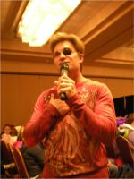 Vic Mignogna Wears My Eye Patch by snowcloud8