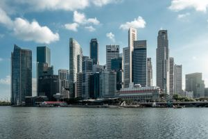 Singapore Skyline by ian1389