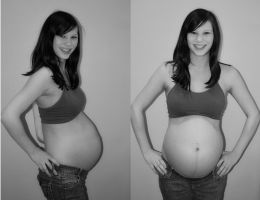 33 weeks by skipabeatphotography