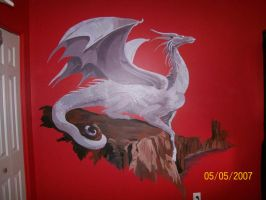 Dragon Mural by Swaggertoes