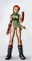 Delta Red Cammy by SirTiefling