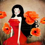 Orange Poppies by AnneJulieAubry