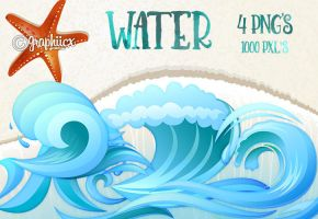 Water Pngs by graphiicx