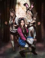 Join the Battle, Steampunk fashion by MissWeirdCat