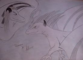 Irina X Alister (dragons) by Volia-HuntedDrakaina