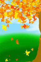 FREE-Autumn Background by Magical-Mama