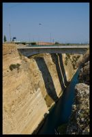 Corinth Canal by Vagrant123