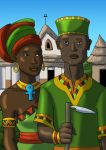 African-American Gothic by DaBrandonSphere