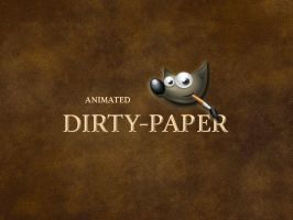 GIMP-Dirtypaper-Brush by Chrisdesign