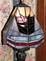 Stained glass con lamp shade by Sunstars
