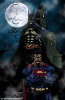 Batman and Superman... by Nero-DevilHunter