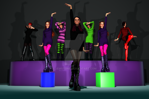 AICL - Whole Lotta Boots by jemstone