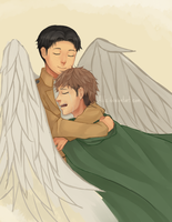 Freckled Angel (JeanMarco) by Alilz
