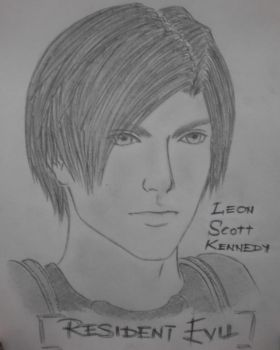 Leon in RE DC by unknown3173