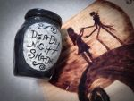 Small Deadly Nightshade Jar- FOR SALE by Lustuad