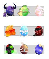 Hatch-Able Egg Adopts (CLOSED!) by Tmis