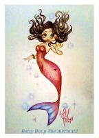 Betty Boop: Mermaid by aquagurl83