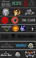 punk and psycho logos 2 by FlaCake