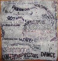 Paramore Lyrics Collage by ch-love