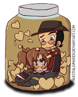 Love in a Jar by AustraliumSiren