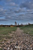 Rushmere Golf course - low angle by Nick356
