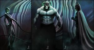 The Bat...The Cat...And Bane by AndyFairhurst